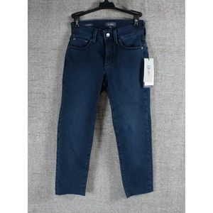 NEW! NYDJ RAW HEM ANKLE JEANS!